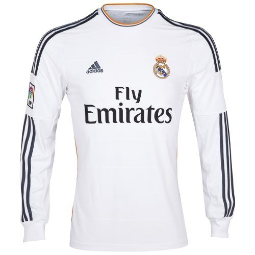 42671a27e Camisa Real Madrid Home 2013-14 - Manga Longa - Mantos Sagrados