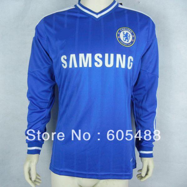 Camisa Chelsea Manga Longa Home 13-14 - Mantos Sagrados 70d6dd466b0f8